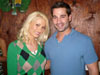Brady Alland with Holly Madison